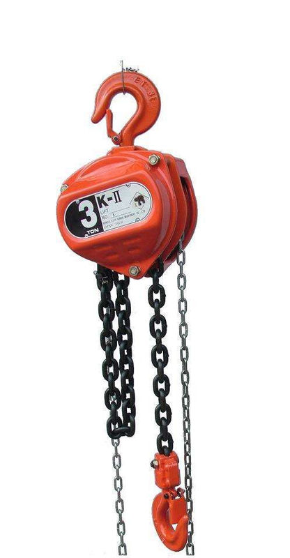 Portable Hand Operated Small Chain Hoist With Drop Forged Hooks For Factory