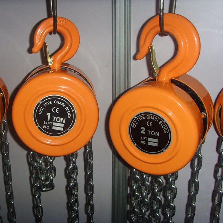 Mechanical Wear Resistant 20t Moveable Manual Chain Hoist